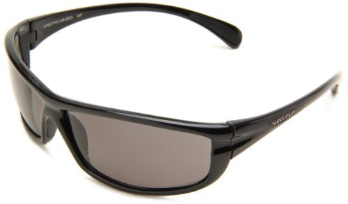 King Black with Gray Polarized Polycarbonate Lens