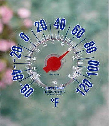 Kleertemp RV Window Therometer