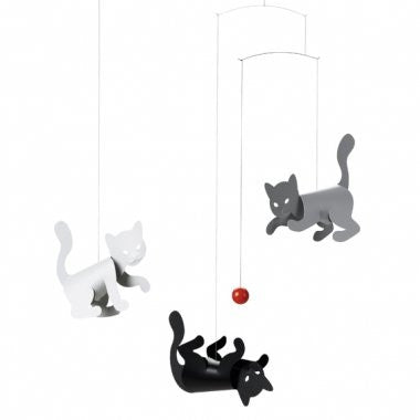 Flensted Mobiles Nursery Mobiles, Kitty Cats