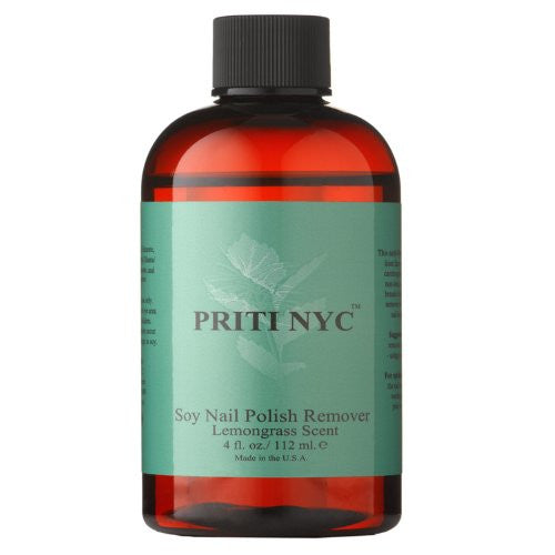 Treatments and Apothecary - Soy Nail Polish Remover w/ Lemongrass Scent 4 oz.