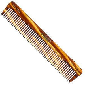 Kent The Handmade Comb - 175 mm Coarse Toothed Dressing Table Comb Model No. R5T