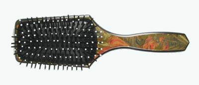 The Original Paddle Brush for Smoothing and Straightening Model No. LPB2 - Black