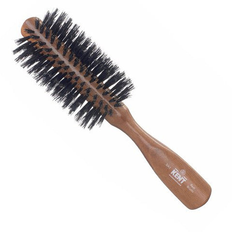 Half Radial Black Hair Brush