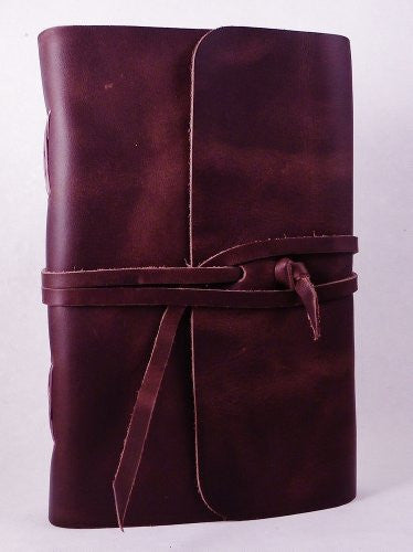 Classic Travel Journal with Strap Closure, Chocolate Brown