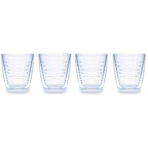 Clear Tumblers 12oz. 4 pack
