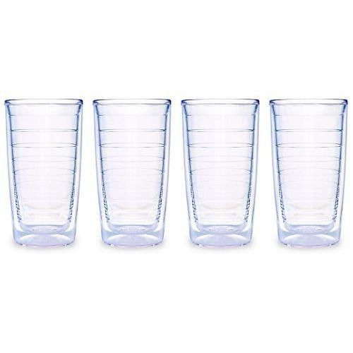 Clear Tumblers 16oz. 4 pack
