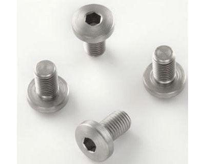 Extreme Grip Screws - Colt Government, Commander, Officers and Clones (4 screws) - Allen (Hex) Head Stainless Finish