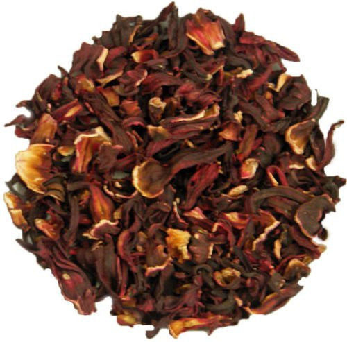 Bulk Hibiscus Flowers, Cut & Sifted, 1 lb. package