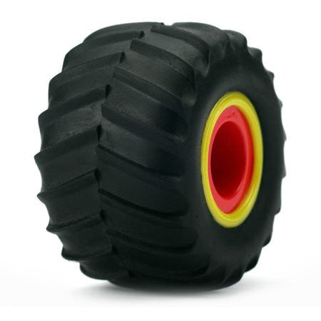 Fr/R Tire & Wheel Set, Mounted(4): Micro Raminator