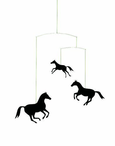Flensted Mobiles Nursery Mobiles, Horse Mobile