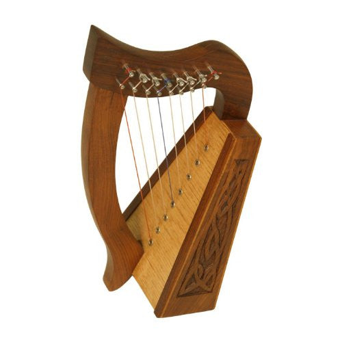 Lily Harp, 8 Strings, Knotwork - Roosebeck