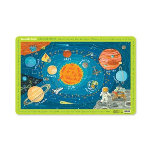 Crocodile Creek Placemat - in your choice of designs (Color: Solar System)