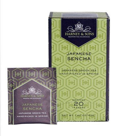 Premium Japanese Sencha - 20 tea bag box