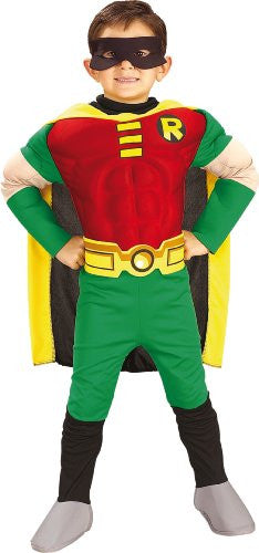 Teen Titans Deluxe Muscle Chest Robin - Small
