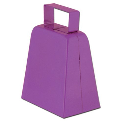 Cowbells (purple) Party Accessory  (1 count)