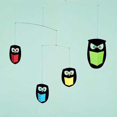 Flensted Mobiles Nursery Mobiles, The Wisest Owls