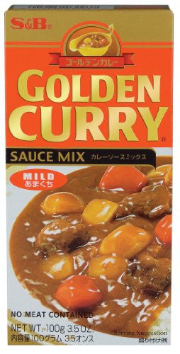 Golden Curry Sauce Mix Mild 3.5 OZ (Pack of 12)