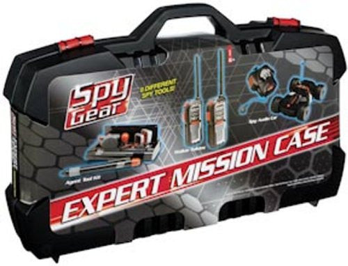 Spy Gear Expert Mission Case