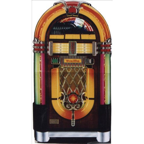 Wurlitzer Jukebox Lifesize Standup Poster - 34x61
