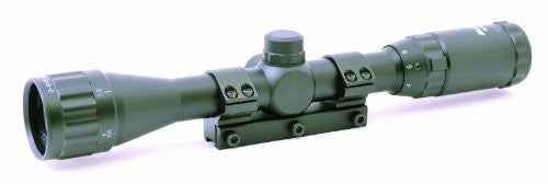 "Airgun Scope 3-9x32AO, Adjustable Objective, 1"" Tube, One piece Mount with Stop Pin"