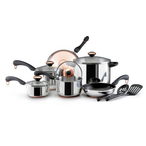 Paula Deen Cookware Sets (Size: 12 Piece Color: Stainless Steel)