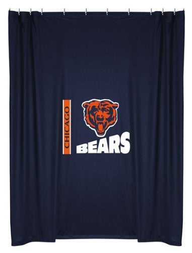 SHOWER CURTAIN Chicago Bears - Color Midnight - Size 72x72