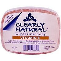 Clearly Naturals Glycerine Soap Rainforest 4.0 OZ
