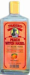 Thayer's: Witch Hazel with Aloe Vera, Peach Astringent 12 oz (2 pack)