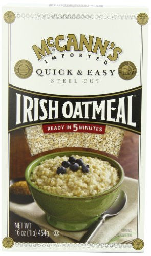 Cereal Oatmeal Irish Quick