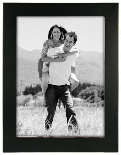 Linear Black Picture Frame 6x8""