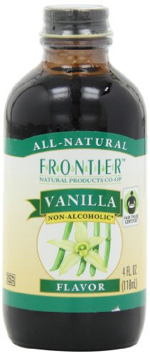 Vanilla Flavor (no alcohol),  Fair Trade Certified, 4.0 oz. (2 pk)