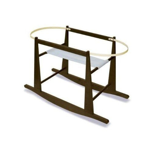 Regular Rocking Basket Stand - Espresso