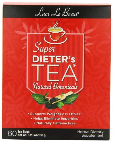 LACI LE BEAU Dieter`s Tea Value Packs Original 60 BAG