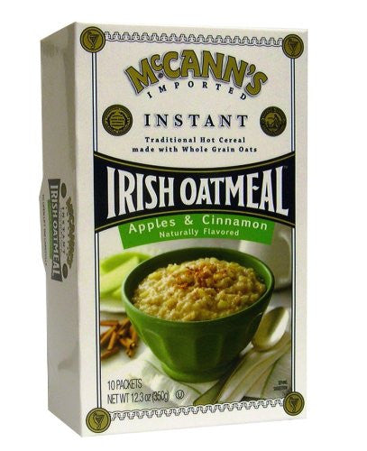 Instant Apple And Cinnamon Flavor Oatmeal 12.3 OZ