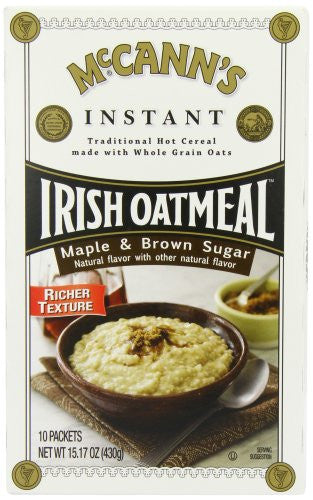 Instant Maple And Brown Sugar Oatmeal 15.1 OZ
