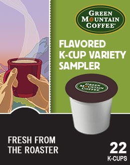 Green Mountain Coffee® Flavored Variety Coffee K-Cup® Packs, 22/Bx
