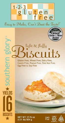 123 Gluten Free Southern Glory Biscuit Mix, Gluten Free 17.76 OZ