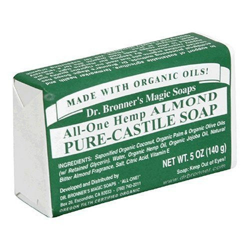 Organic Bar Soap Almond - 5 oz