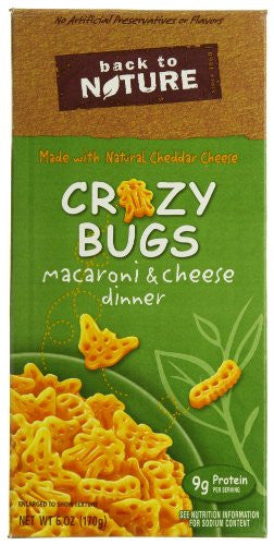 Macaroni & Cheese With Crazy Bugs 6 oz