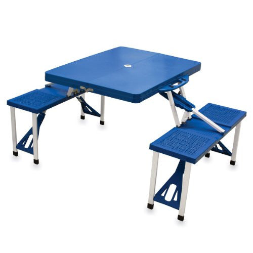 Picnic Time Portable Folding Picnic Table with Seating for 4