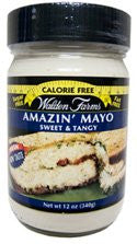 Walden Farms Mayo, Sugar Free, Calorie Free, Carb Free, Fat Free, 12 oz.