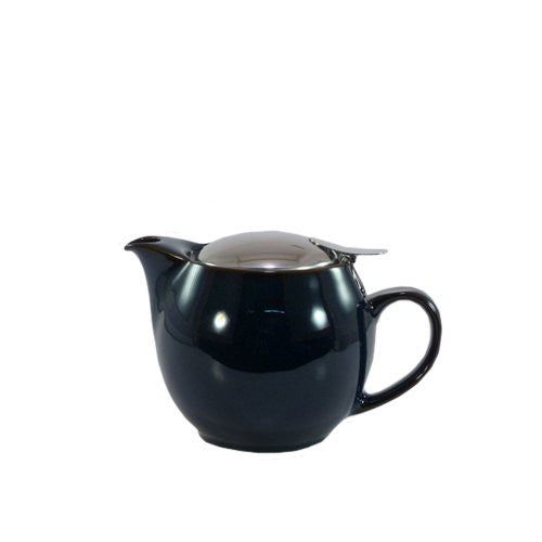 Bee House Ceramic Round Teapot - Jeans Blue