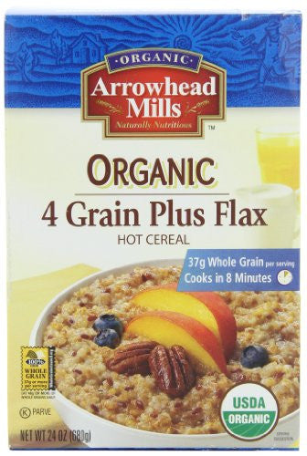 Arrowhead Mills Hot Cereal 4 Grain Plus Flax 24.0 OZ