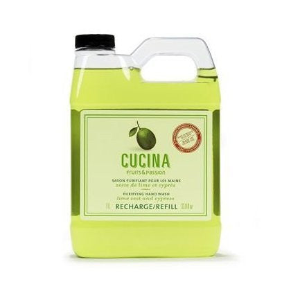 Cucina Regenerating Hand Wash - Lime Zest and Cypress (Size: 33.8 oz)