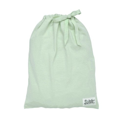 Under the Nile Fitted Crib Sheet With Bag (Color: Sage)