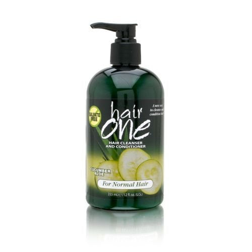 Hair One Cucumber Cleanser & Conditioner 12oz