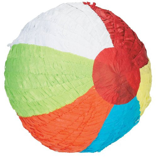 Beach Ball Pinata (Size: One Size Color: As Shown)