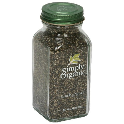 Black Pepper Organic 2.31 OZ (Pack of 3)