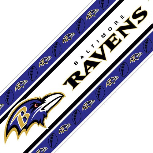 WALL BORDER Baltimore Ravens - Color Multi - Size 0,5x15