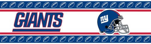 WALL BORDER New York Giants - Color Multi - Size 0,5x15